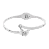 BUTTERFLY HINGE BANGLE CUFF BRACELE