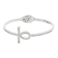 DAINTY METAL HINGE BANGLE BRACELET