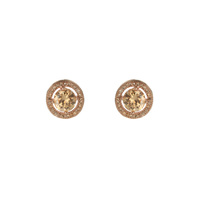 PAVE CZ STUD EARRING