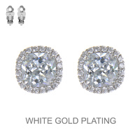 RCL CUBIC STONE EARRING