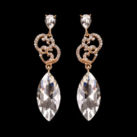 LOVE MARQUISE OVAL STONE EARRING