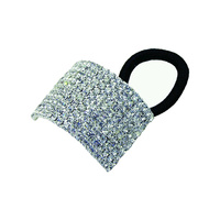 10 LINE RHINESTONE PONY TAIL HOLDER