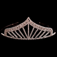 PRINCESS STYLE POINTED STONE CROWN