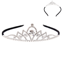 RHINESTONE HAIR CROWN