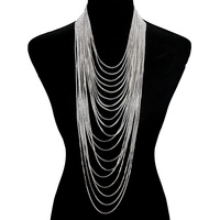 20 LINE LAYERED NECKLACE