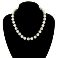 "16"" 12MM 1 LINE PEARL NECKLACE"