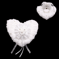 HEARTS & ROSES WEDDING RING PILLOW
