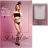 CROSS FISHNET STOCKING PANTYHOSE