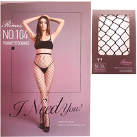 LARGE FISHNET DETAIL STOCKING PANTYHOSE