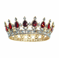 FULL RHINESTONE PAGEANT CROWN