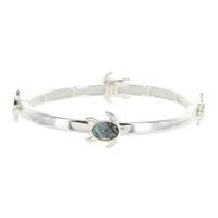 Sea Life Theme Double Stretch Bracelet - Turtle