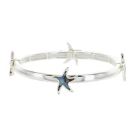 Sea Life Theme Double Stretch Bracelet - Starfish