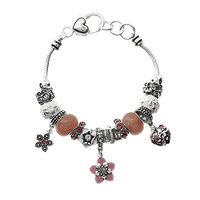 COLOR FLOWER CONCEPT MULTI BEADS BR.