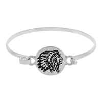 INDIAN CHIEF WIRE BRACELET