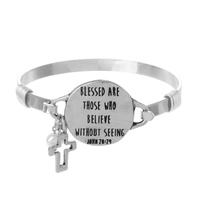 """BLESSED ARE THOSE"" WIRE BRACELET"