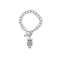 CHAIN TOOGLE BR W/ OWL