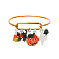 HALLOWEEN THEME WIRE BRACELET