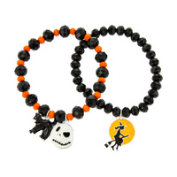 HALLOWEEN THEME STRETCH BRACELET