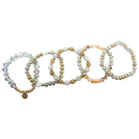 5 PC STACKABLE STRETCH BRACELET