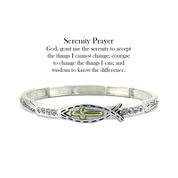 SERENITY PRAYER STRETCH BRACELET