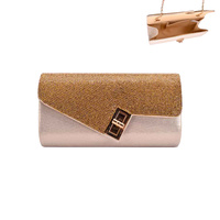 ASYMMETRICAL RHINESTONE EVENING BAG