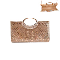 DERBY DAY OVAL HANDLE GEM BAG