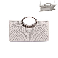 PEARL STONE GEM COCKTAIL PARTY BAG