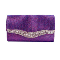 PROM PARTY STONE EVENING BAG