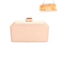 MINIMALIST PEARL CLOSURE EVENING BAG