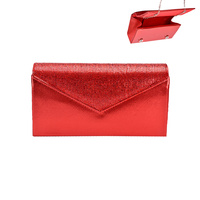 ENVELOPE GEM CLOSURE EVENING BAG