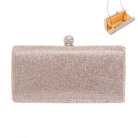 SMALL GLITZY STONE EVENING CLUTCH
