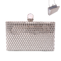 EVENING BAG W/GEMS IN FRONT
