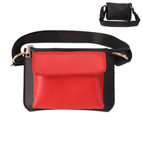 DOUBLE POCKET CROSS BODY/FANNY PACK