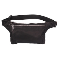 FABRIC BELT BUCKLE FANNY PACK