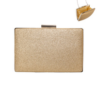 SHIMMER RECTANGLE EVENING CLUTCH