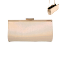 RIBBED LONG EVENING BAG