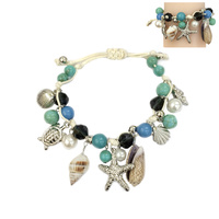 BLUE FASHIONABLE STRING BRACELET (OCEAN THEME)