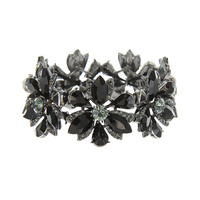 MARQUISE STONE FLOWER STRETCH BRACELET