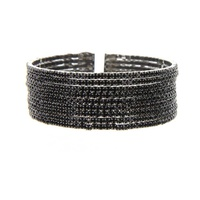 9 Line Rhinestone Bangle