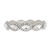 RHINESTONE TRIM ACCENT STRETCH BRAC
