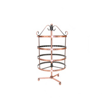 JEWELRY ORGANIZER STAND EARRING HOLDER ROUND