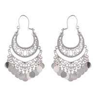 FILIGREE METAL EARRING