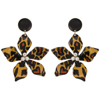 FLOWER PRINT EARRING