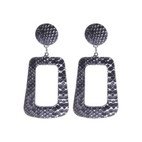 REC ANIMAL PRINT DROP EARRING