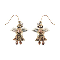 ANGEL FISH HOOK EARRING