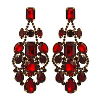 BLOGGERCHUNKY STONE STATEMENT EARRI