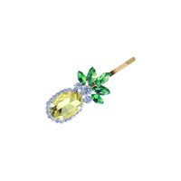 RHINESTONE PINEAPPLE BOBBY PIN