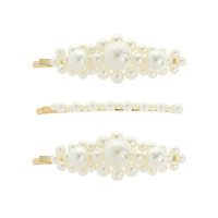 3 PC PEARL BOBBYPIN SET