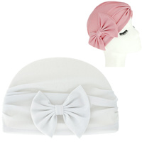SHIMMERING GLITTER BOW KNOT TURBAN