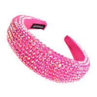 RUNWAY HIGH RHINESTONE HEADBAND